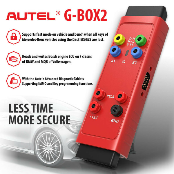 AUTEL G-BOX Tool OBD2 for MB All Keys Lost Work with Autel MaxiIM IM608